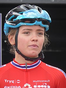 Susanne Andersen - 2018 UEC European Road Cycling Championships (Women's road race).jpg
