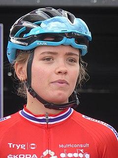 Susanne Andersen Norwegian cyclist