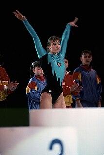 Svetlana Boginskaya Belarusian gymnast
