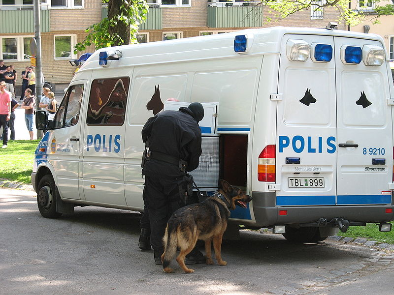 File:Swedish K-9 car.jpg