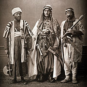 Three Syrian men, 1873.