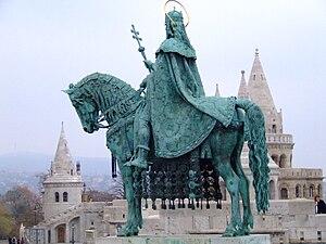 Alajos Stróbl - Image: Szent István Budapest Strobl