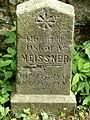 Třešť Jüdischer Friedhof - Grabstein Meissner 1.jpg
