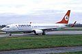 TC-JGE B737-8F2W Turkish AL MAN 04DEC04 (6448277715).jpg