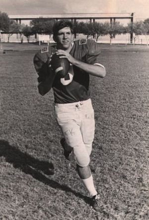 Tommy Kramer - Kramer at San Antonio Lee High School