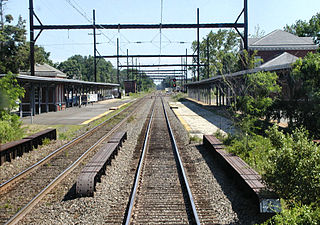 West Trenton station SEPTA railway station in Ewing Township, New Jersey