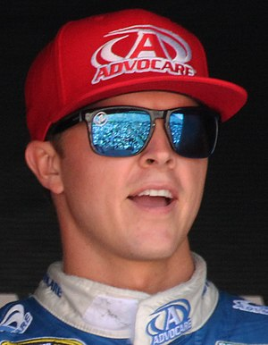 Trevor Bayne - Bayne at the 2015 Toyota/Save Mart 350