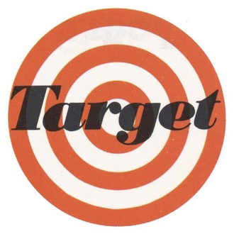History of Target Corporation - Target's original bullseye logo, used from 1962 until 1968
