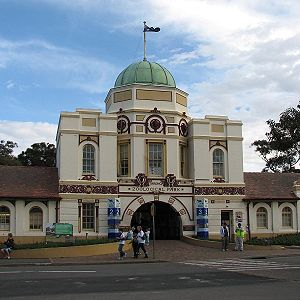 Taronga Zoo - The old entrance of Taronga Zoo