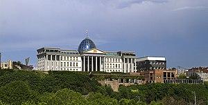 Presidential Administration of Georgia - Image: Tbilisi, Georgia — Presidential Palace