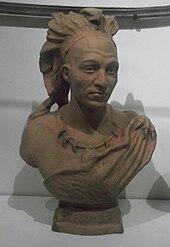 Scultura busto