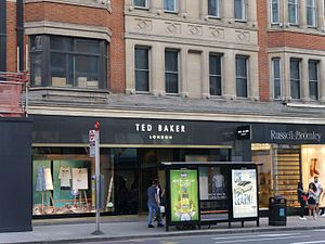 Ted Baker - Ted Baker store, Brompton Road, London, 2016