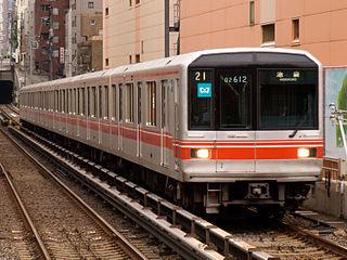 Tokyo Metro 02 series Japanese train type