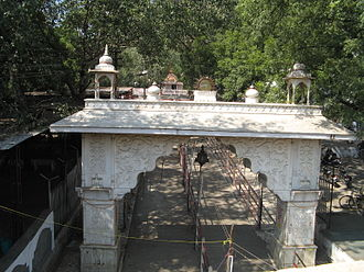 Sitabuldi Fort - Entrance gate of Tekdi Ganesh temple
