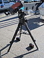 Telescope set up by the Wagga Wagga Observatory at the Civic Centre for the transit of Venus (4).jpg