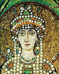 Emperatriz Teodora (detalle)