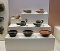 Terrissa negra del període hel·lenístic, Museu Arqueològic d'Olímpia.JPG