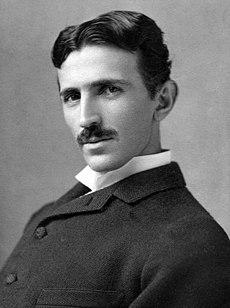 Никола Тесла у 37 години, 1893, фотографија Наполеона Серонија.
