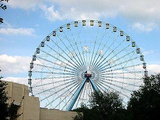 Texas Star Ferris wheel at Fair Park in Dallas