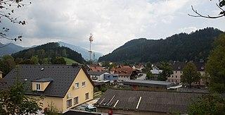 Thörl Place in Styria, Austria