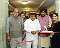 Thaawar Chand Gehlot inaugurating an exhibition, during the awards presentation ceremony of 'Drawing and Painting Competition' for student including students with disabilities.jpg
