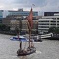 Thames barge parade - downstream - Repertor 6763cc.JPG