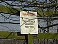 Thanks for the Warning. - geograph.org.uk - 377835.jpg