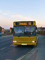 The Big Lemon bus (X224 WNO), 1 May 2013 (2).jpg