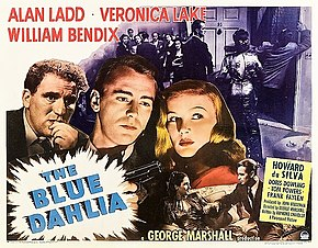 Description de l'image The Blue Dahlia 1946 poster.jpg.