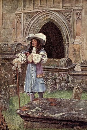 Sonnet 146 - Illustration by Eleanor Fortescue-Brickdale