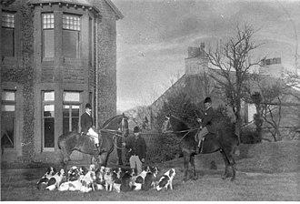 Sir Wilfrid Lawson, 3rd Baronet, of Brayton - The Brayton Blazers Foxhounds