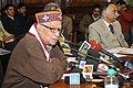 The Chairman, PAC, Dr. Murli Manohar Joshi addressing the media, in New Delhi on December 27, 2010.jpg