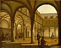 The Courtyard of the Old Stock Exchange in Amsterdam by Kaspar Karsen Amsterdam Museum SA 7526.jpg
