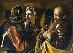 Микеланджело да Караваджо: The Denial of Saint Peter