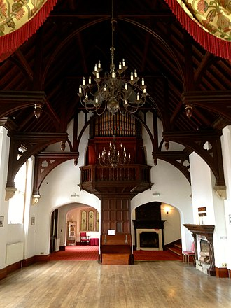 The Hendre - Image: The Hendre Great Hall
