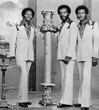 Little Anthony and the Imperials - The Imperials in 1976. (L to R) Harold Jenkins, Clarence Collins and Bobby Wade