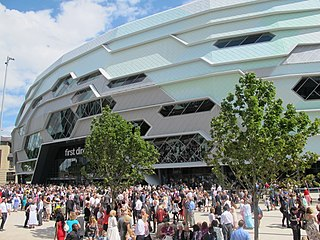 First Direct Arena entertainment focused arena in Leeds, West Yorkshire, England