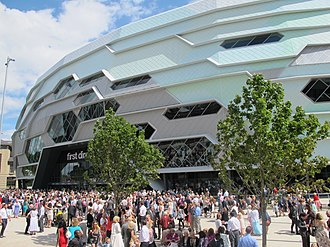 First Direct Arena - Image: The Leeds First Direct Arena