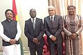 The Minister of State for Mines and Steel, Shri Vishnu Deo Sai meeting the President of the Republic of Guinea-Bissau, Mr. Jose Mario Vaz, at Bissau on September 16, 2015 (1).jpg