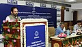 The Minister of State for Minority Affairs (Independent Charge) and Parliamentary Affairs, Shri Mukhtar Abbas Naqvi addressing the Annual Conference of State Channelising Agencies, in New Delhi on September 27, 2016.jpg