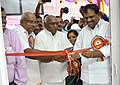 The Minister of State for Road Transport & Highways and Shipping, Shri P. Radhakrishnan inaugurating the Post Office building, at Puthur-Kollam, in Kerala.jpg