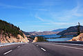 The New Highway upgrade at Lake Country Okanagan Valley, BC, Canada.jpg