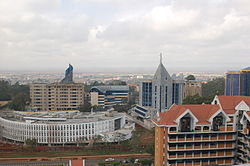 Upper Hill's skyline has significantly changed
