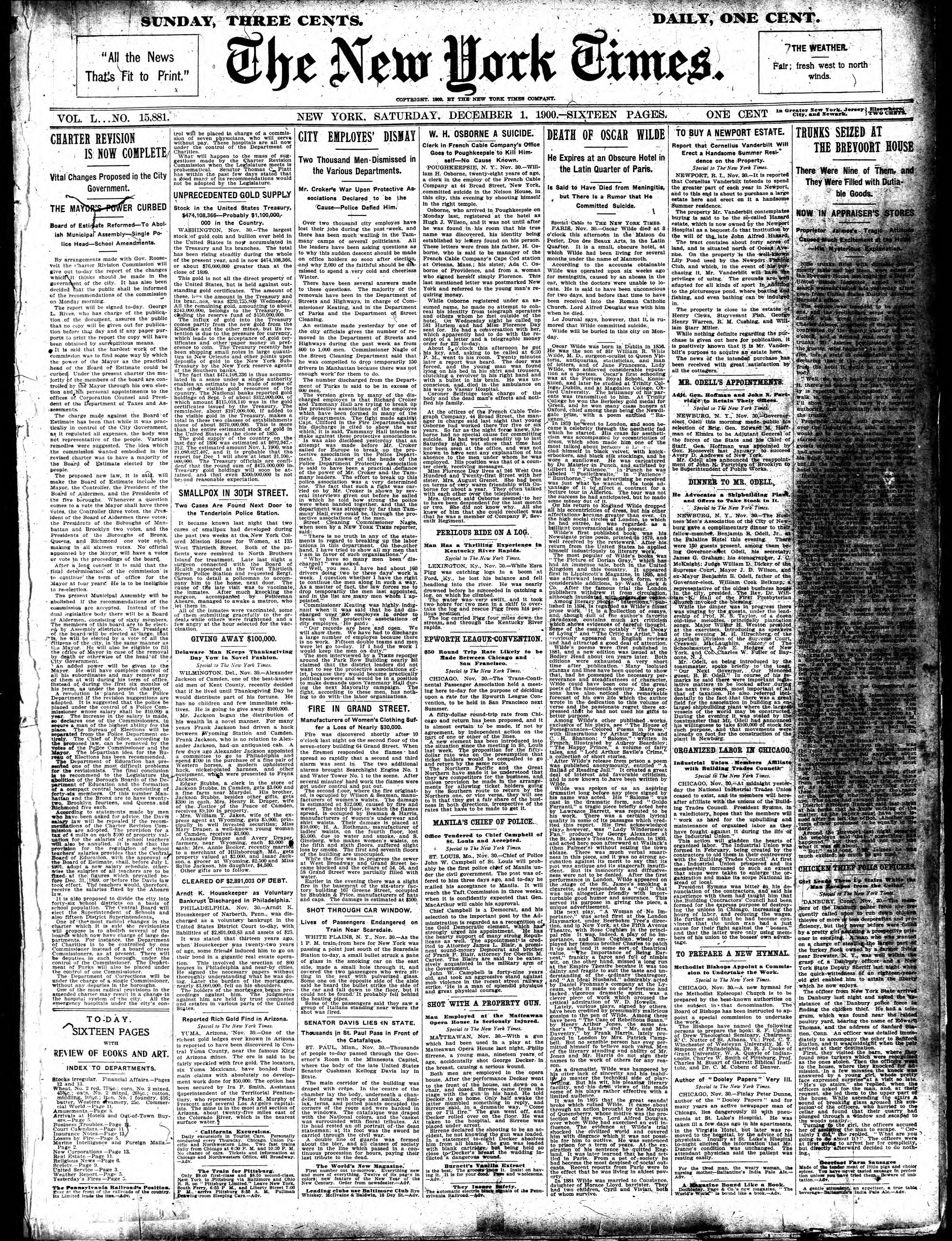 Page:The New York Times, 1900-12-01.djvu/1 - Wikisource, the free online library