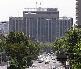 The Okayama city office is faced from the north.JPG