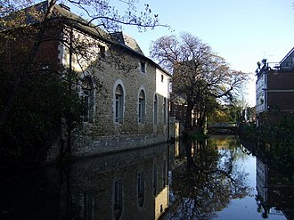 Castle Mill Stream - Image: The Old Malthouse on Castle Mill Stream geograph.org.uk 1573993