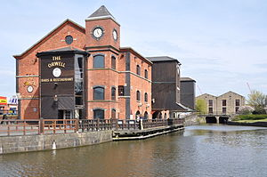 Wigan Pier - Gibson's Warehouse was built in 1777 and is now The Orwell at Wigan Pier