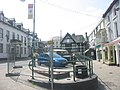 The Owain Glyndwr Hotel and Corwen Square - geograph.org.uk - 479645.jpg