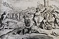 The Phillip Medhurst Picture Torah 296. Pharaoh adds to the work of the Israelites. Exodus cap 7 vv 13-18. Hadeler.jpg