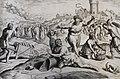 The Phillip Medhurst Picture Torah 296. Pharaoh adds to the work of the Israelites. Exodus cap 7 vv 13-18. Hadeler.jpg